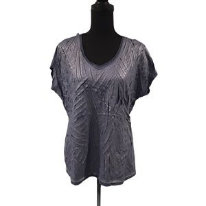 Chico's Short Sleeve T-shirt size 2 NWT